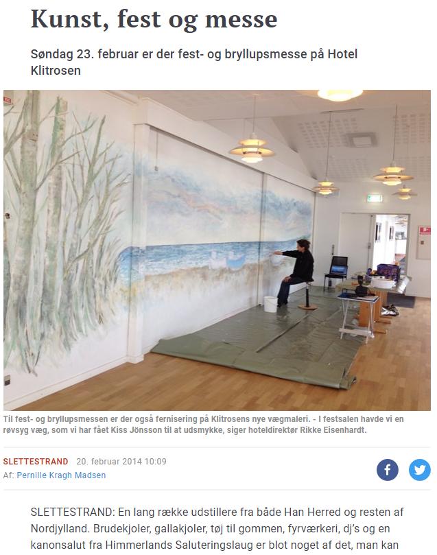 Nordjyske medier Klitrosen – Slette strand